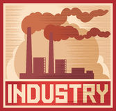Industry poster Stock Photography
