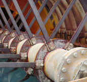 Industry processing sand machine part Stock Photo