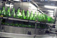 Industry, production of bottle Stock Images