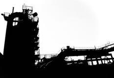 Industry shadows 1 Stock Photo