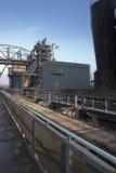 Industry skyline. Steel industry detail in germany Royalty Free Stock Image