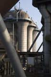 Industry skyline. Steel industry detail in germany Royalty Free Stock Photo