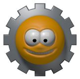 Industry smiley Royalty Free Stock Images