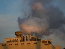 Industry smoke Royalty Free Stock Photos