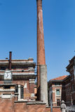 Industry in the south #2. Salsomaggiore Italy Royalty Free Stock Photography
