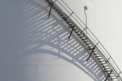 Industry stairs Royalty Free Stock Image