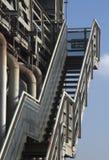 Industry stairway detail. Steel industry stairway detail in germany Royalty Free Stock Image