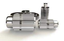 Industry steel gears Stock Photo