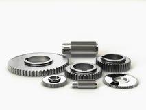 Industry steel gears Royalty Free Stock Image