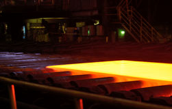 Industry steel, Hot plate Stock Photos