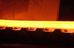 Industry steel, Hot slab Stock Image