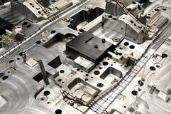 Industry steel pattern. Royalty Free Stock Image