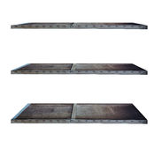 Industry style shelves made of steel Royalty Free Stock Images