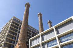 Industry symbol, Barcelona. Stock Photos