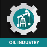 Industry symbol design Royalty Free Stock Photos
