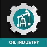 Industry symbol design Royalty Free Stock Photos