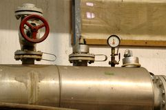 Industry systems. Industry pipes and industry systems concept, industry oil pipes, energy concept Stock Photo
