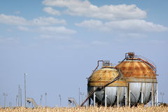 Industry tank for gas Royalty Free Stock Photos