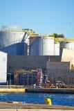 Industry tanks Stock Photos