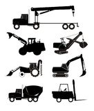 Industry trucks and equipment Royalty Free Stock Image