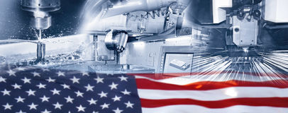 Industry in the US Stock Photo