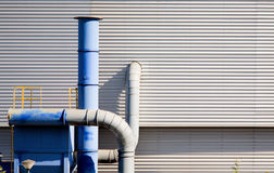 Industry ventilation system. An outdoor industry ventilation system Stock Photos