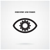 Industry and vision concepts,industrial concepts Stock Photography
