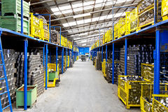 Industry warehouse Royalty Free Stock Photography