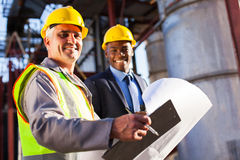 Industry worker manager Royalty Free Stock Photography