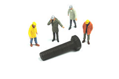 Industry workers Stock Photography