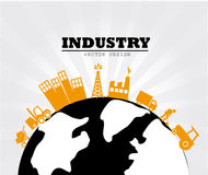 Industry world design Royalty Free Stock Photo