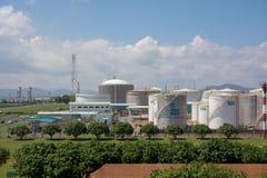 industy的油和煤气 免版税库存照片