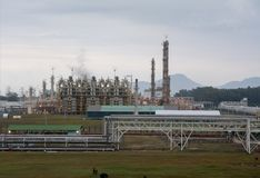 industy的油和煤气 免版税图库摄影