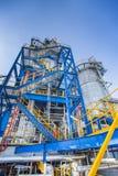 Indutrial factory process area Stock Photos