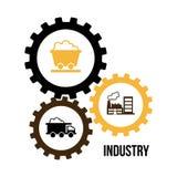 Indutry design Stock Image