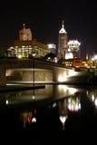 Indy alla notte Immagine Stock