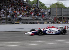 Indy car driver Jeff Simmons is running in the Indy 500 race May 25, 2008 in Indianapolis, IN Stock Image