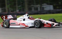 Indy car pro driver Juan Pablo Montoya Stock Image