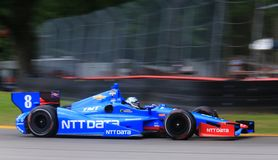 Indy car pro driver Ryan Briscoe royalty free stock photography