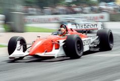 Indy car race Royalty Free Stock Photography