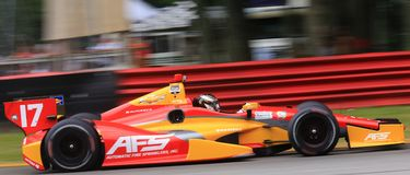Indy car race Stock Image