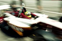 Indy Car Racing Royalty Free Stock Photography