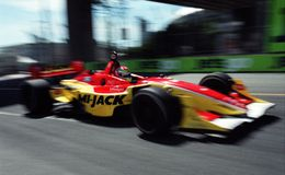 Indy Car Racing Royalty Free Stock Images