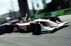 Indy car racing Stock Photography