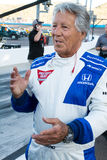 Indy Car Racing Legend Mario Andretti Stock Image