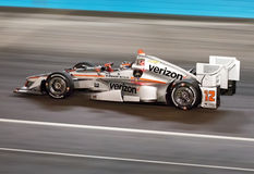 Indy Car Racing Will Power Royalty Free Stock Photography