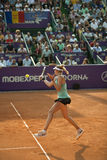 Indy De Vroome. On WTA BRD Bucharest Open Royalty Free Stock Images