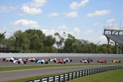 Indy ljus på Indianapolis 2014 Royaltyfria Bilder