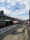 Indy Pit Row Royalty Free Stock Photos