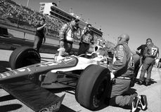 Indy race with crew Royalty Free Stock Images